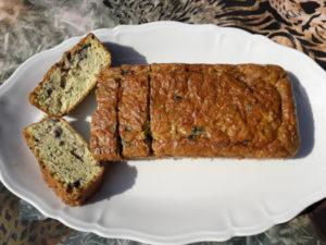 Cake aux courgettes et à la farine d'amandes